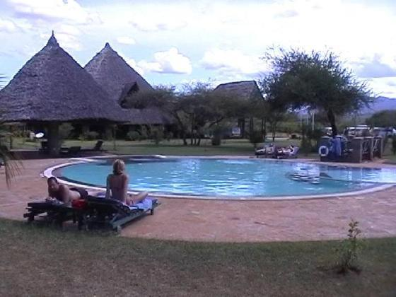 Voi Safari Lodge.